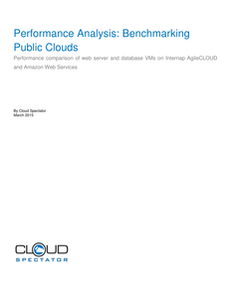 Performance Analysis: Benchmarking Public Clouds