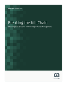 Breaking the Kill Chain: Stopping Data Breaches with Privileged Access Management