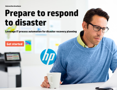 Prepare to Respond to Disaster: Leverage IT Process Automation for Disaster Recovery Planning