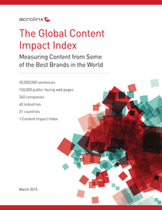 The Global Content Impact Index: Measuring Content from Some of the Best Brands in the World