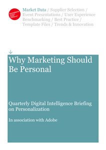 Why Marketing Should Be Personal