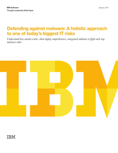 Defending Against Malware: A Holistic Approach to One of Today's Biggest IT Risks