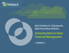 Best Practices for Choosing the Right Accounting Software