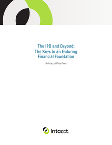 The IPO and Beyond: The Keys to an Enduring Financial Foundation
