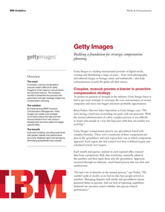 Getty Images:  Building a Foundation for Strategic Compensation Planning