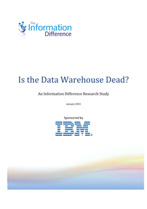 Is the Data Warehouse Dead?