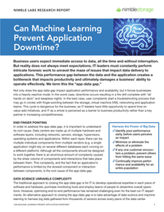 InfoSight Report-Can Machine Learning Prevent App Downtime