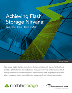 Achieving Flash Storage Nirvana