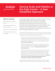 How to Master Scale and Mobility in the Data Center
