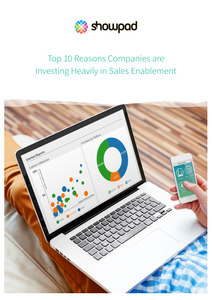 Top 10 Reasons Companies are Investing Heavily in Sales Enablement