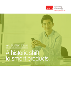 A Historic Shift to Smart Products