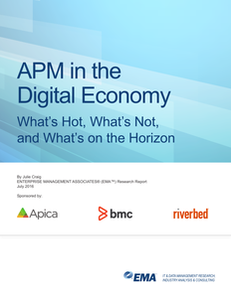 APM in the Digital Economy What's Hot, What's Not, and What's on the Horizon