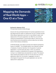Nimble Labs Report: Mapping the Demands of Real-World Apps – One IO at a Time