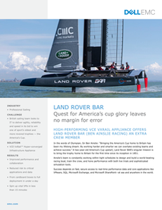 Land Rover Bar: Quest for America's Cup Glory Leaves No Margin for Error
