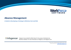 Absence Management: A Guide to Developing a Strategy to Minimise Cost and Risk