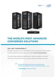 The World's Most Advance Converged Solutions