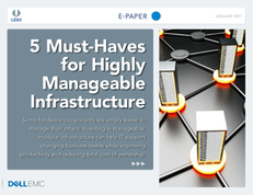 5 Ways to Lower Costs with Highly Manageable Infrastructure