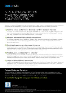 5 Reasons Why It's Time to Upgrade Your Servers