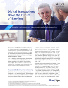 Digital Transaction Drive the Future of Banking