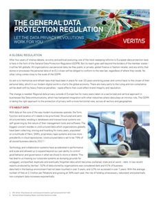 The General Data Protection Regulation: Let Data Privacy Revolutions Work for You