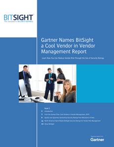 Gartner Names BitSight a Cool Vendor in Vendor Management Report