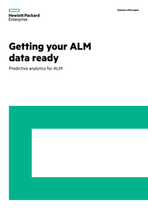 Getting Your ALM Data Ready
