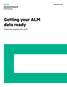 Getting your ALM Data Ready: Predictive Analytics for ALM