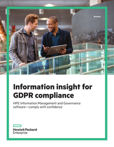 Information Insight for GDPR Compliance
