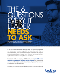 The 6 Questions Every IT Leader Needs to Ask