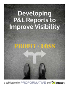 Developing P&L Reports to Improve Visibility