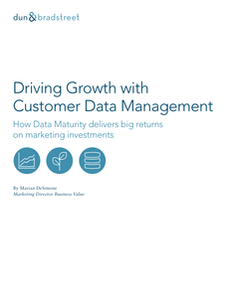 Making a Business Case for Customer Data Management in Marketing