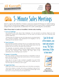 5 Minutes Sales Meetings