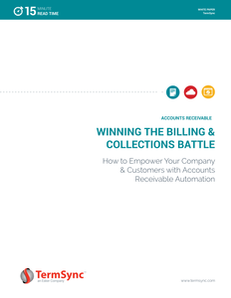 Winning the Billing Battle: How to Empower Your Company & Customers with Accounts Receivable