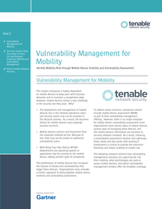 Four Ways to Close the Gap Between Enterprise Mobility & Vulnerability Management