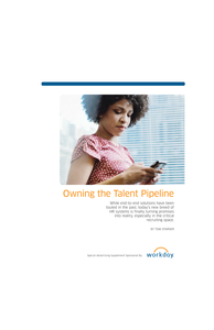Owning the Talent Pipeline: Turn Promises into Reality