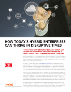 How Today's Hybrid Enterprise Can Thrive in Disruptive Times