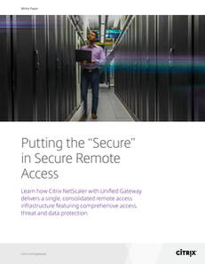 "Putting the ""Secure"" in Secure Remote Access"