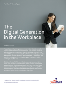 The Digital Generation in the Workplace
