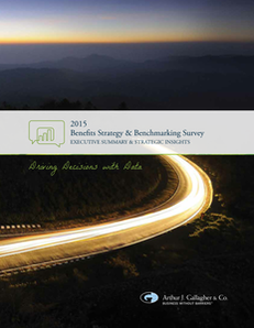 2015 Gallagher Benefits Survey Summary