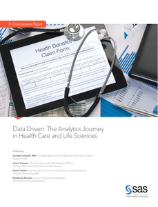 Data Driven: The Analytics Journey in Health Care and Life Sciences