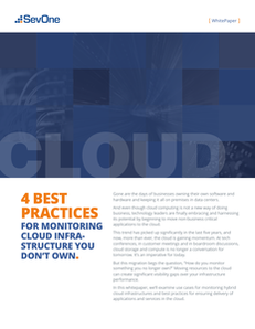 4 Best Practices for Monitoring Cloud Infrastructure You Don't Own