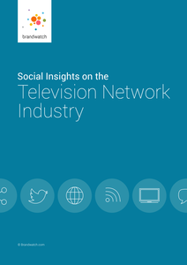Brandwatch Report: Social Insights on the Television Network Industry
