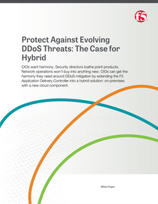 Protect Against Evolving DDoS Threats