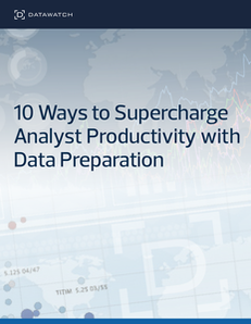 10 Ways to Supercharge Analyst Productivity with Data Preparation