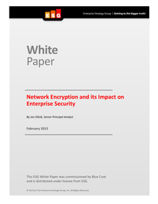 Network Encryption and its Impact on Enterprise Security