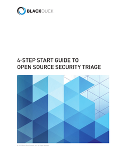 4 Step Get Started Guide to Open Source Security Triage