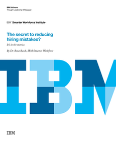 The Secret to Reducting Hiring Mistakes?  It's in the Metrics