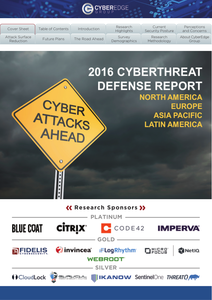 2016 Cyber Threat Defense Report