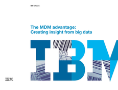 The MDM advantage: Creating insight from big data
