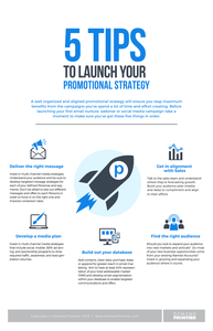 5 Tips to Launch Your Promotional Strategy